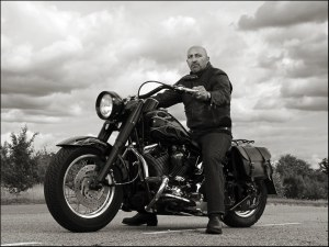 Dave and his Harley