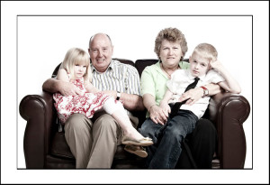 Grandparents & Grandchildren portrait photography