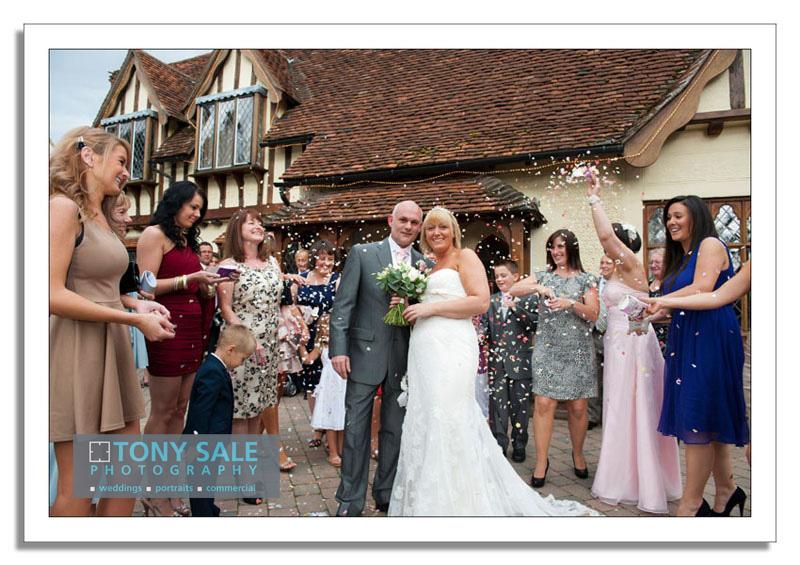 Wedding Photography Great Hallingbury Manor Hotel