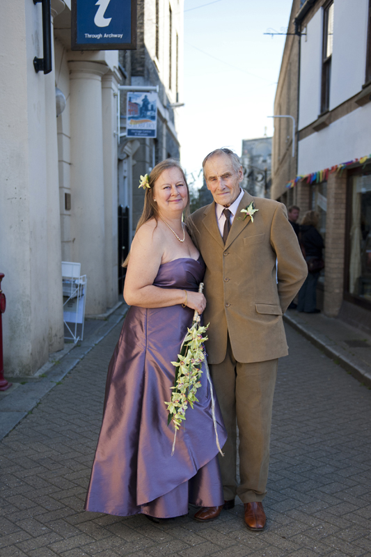 The wedding of Trevor and Jane in Sudbury