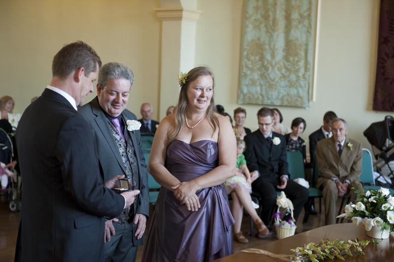 The wedding of Trevor and Jane in Sudbury