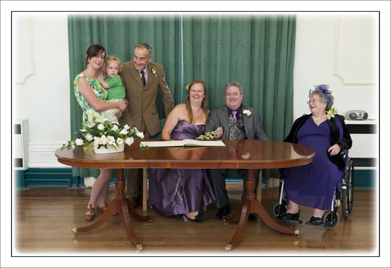 The wedding of Trevor and Jane in Sudbury Suffolk