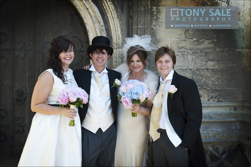 Wedding at St Mary's Church Bocking near Braintree Essex