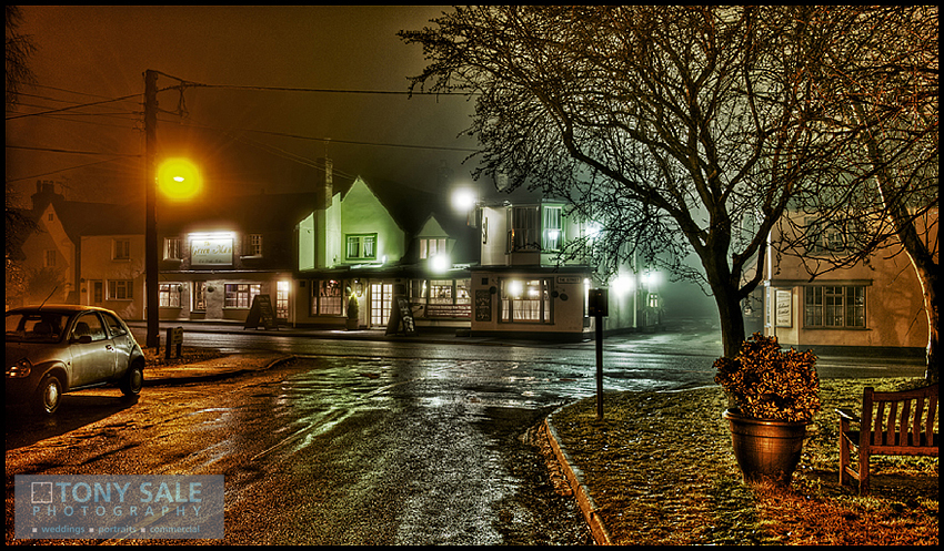 HDR image of the Green Man pub