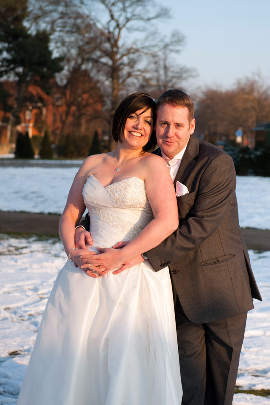 The winter wedding of Rachel & Gary at The Swan Hotel in Bedford