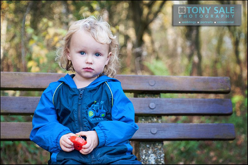 Portrait of a child in Gosfield Essex