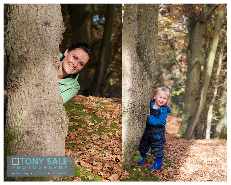 Portraits of mother & son in Gosfield Essex