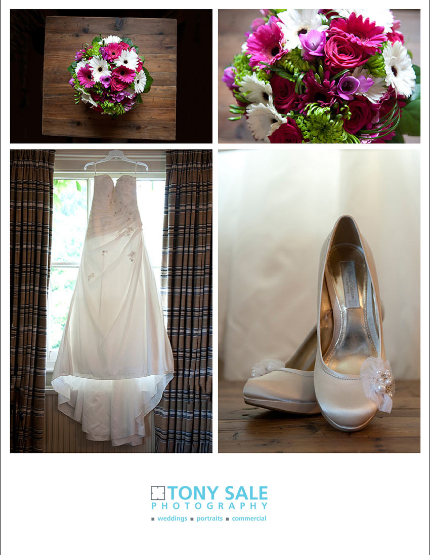 Wedding at Maison Talbooth Dedham in Essex - bridal details