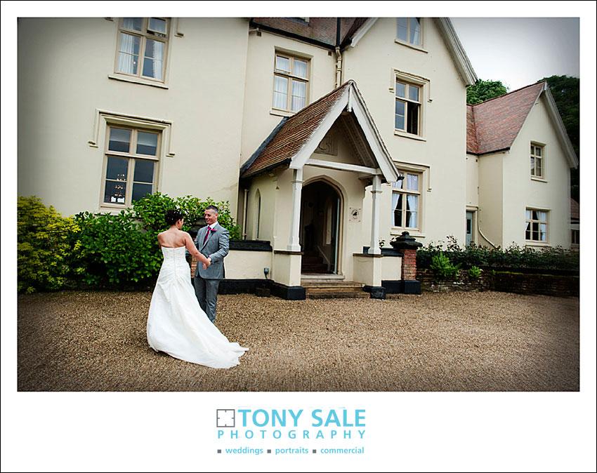 Wedding at Maison Talbooth in dedham Essex