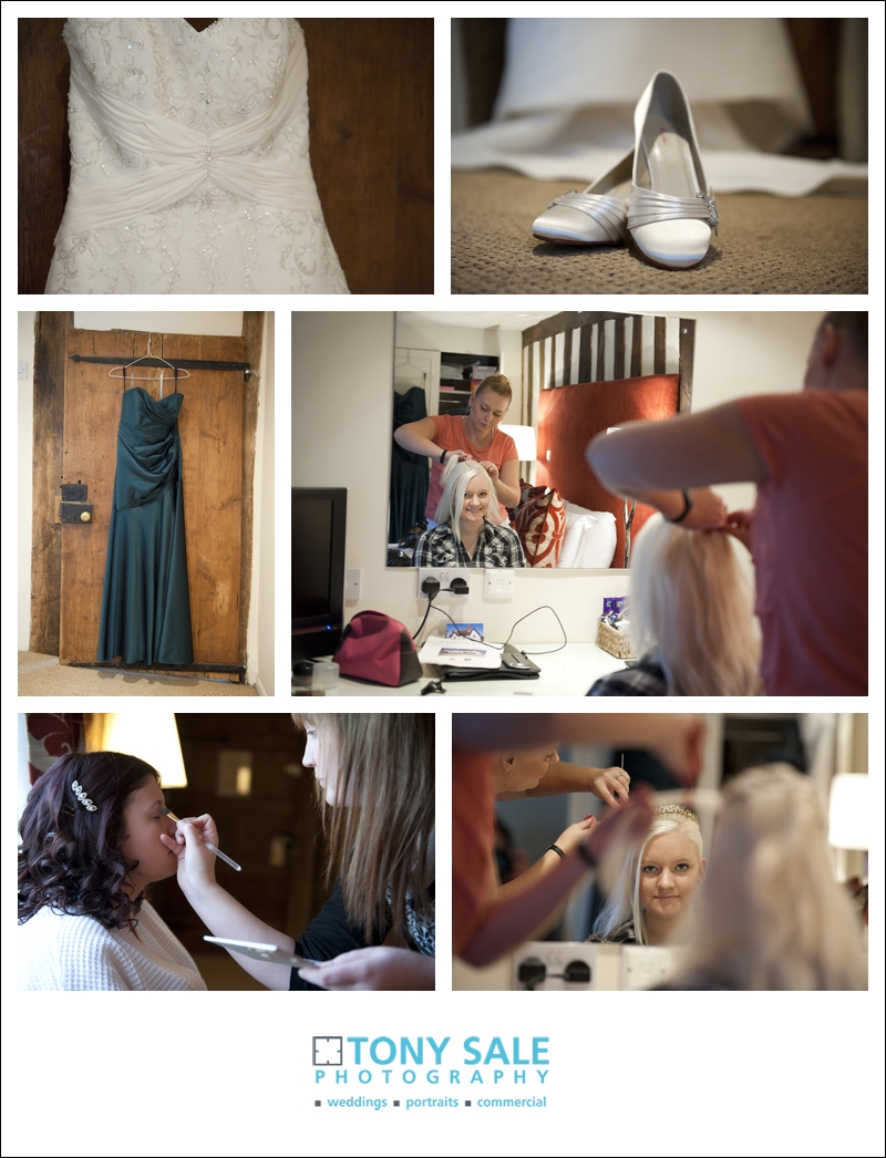 Bridal preparation at Channels