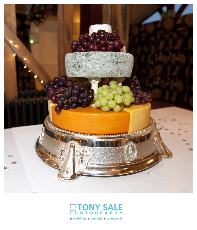 Wedding cake - cheese