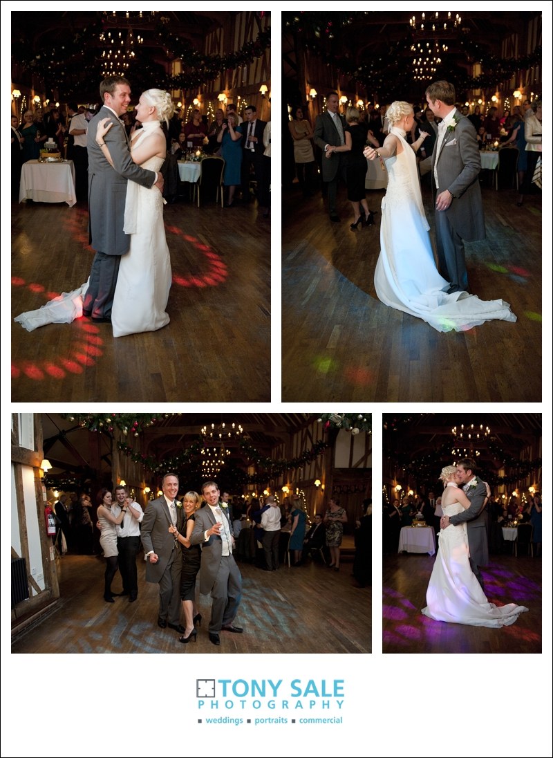 wedding at channels golf club - the first dance