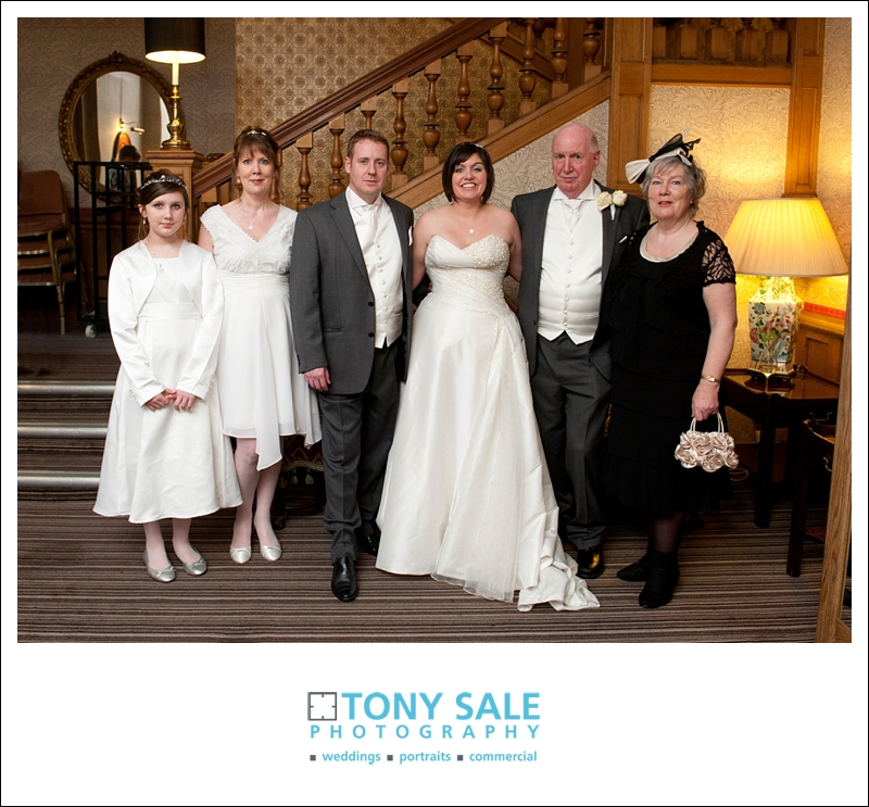 Wedding Family Group photograph