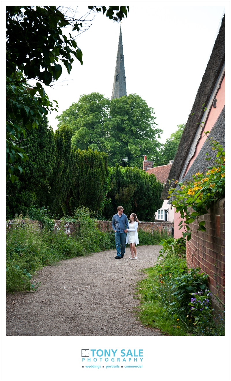 Wedding photo shoot in Thaxted