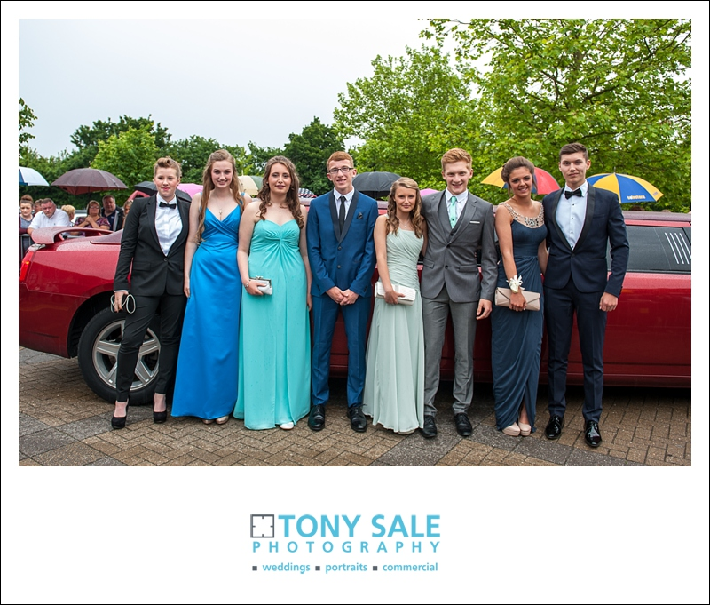 Very stylish guys and gals at the Essex Prom