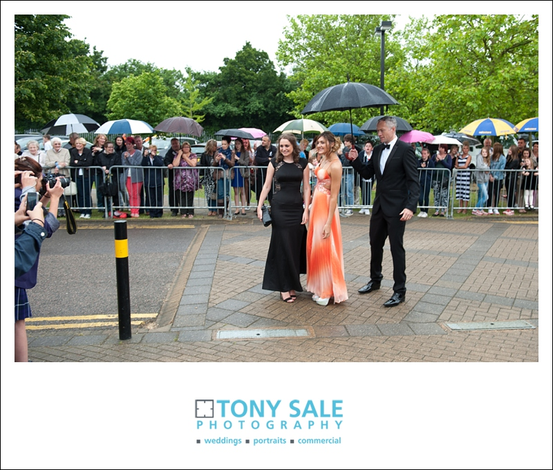 Tabor Academy school prom in the rain