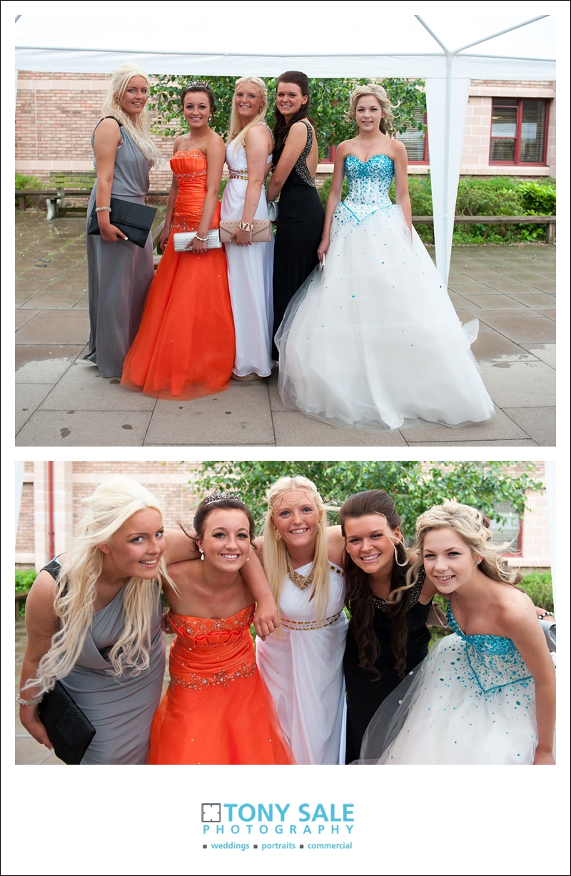 Fantastic school prom photographs