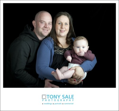 Susie, Rob & Ollie - Family Portrait Photography