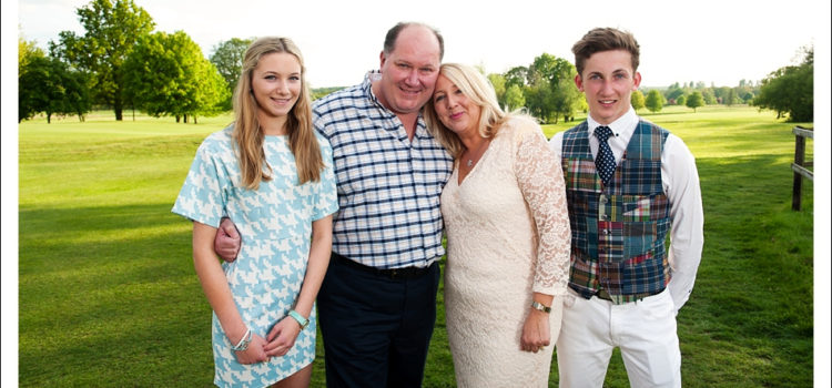 Family Portrait Photography Gosfield Lake Golf Club