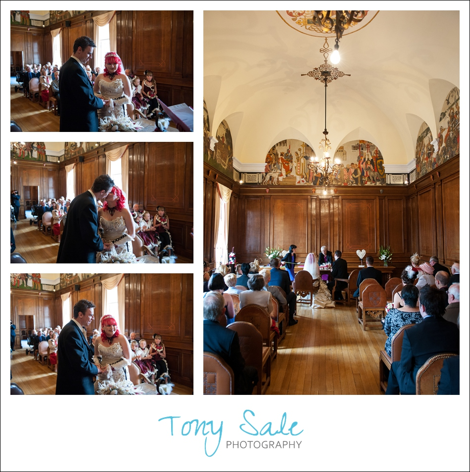 Sam & Luke get married at Braintree Town Hall