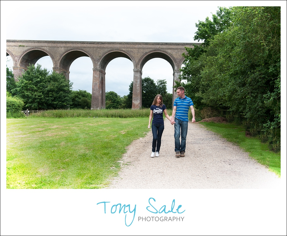 Chappel Viaduct – Pre wedding photo shoot