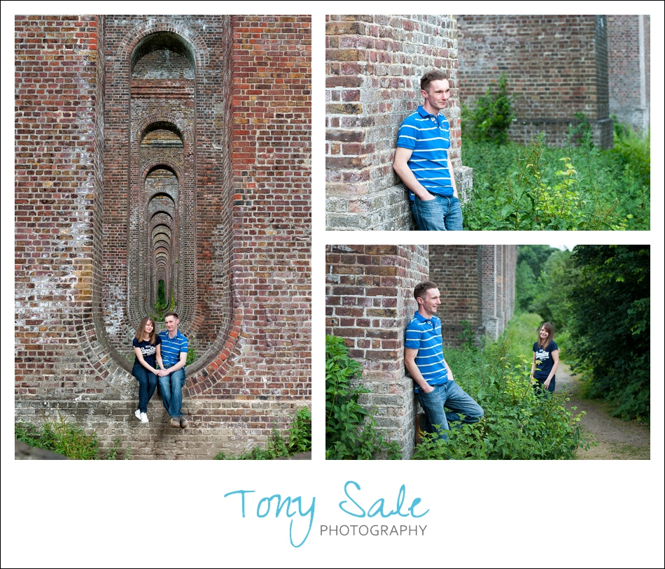 Chappel Viaduct Pre wedding photo shoot