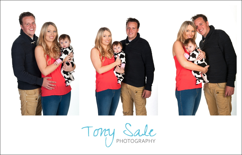Studio Family Portrait  Photography Halstead Essex
