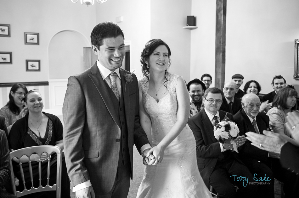 Bride and Groom at Newland Hall_Essex