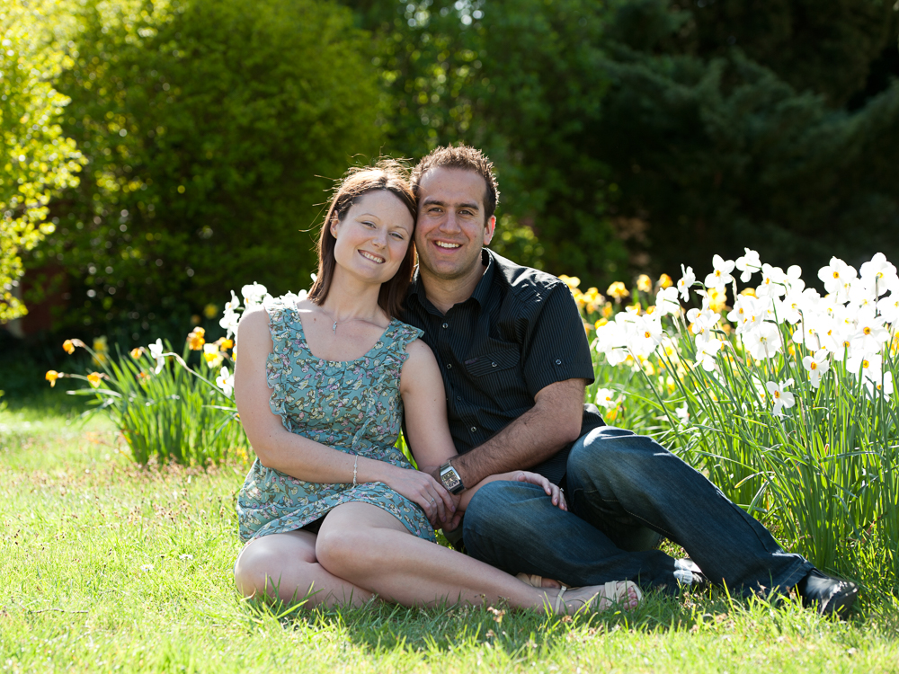 A pre wedding photo shoot with Emma & Andrew in Castle Hedingham