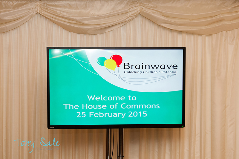 A Brainwave welcome to the House of Commons