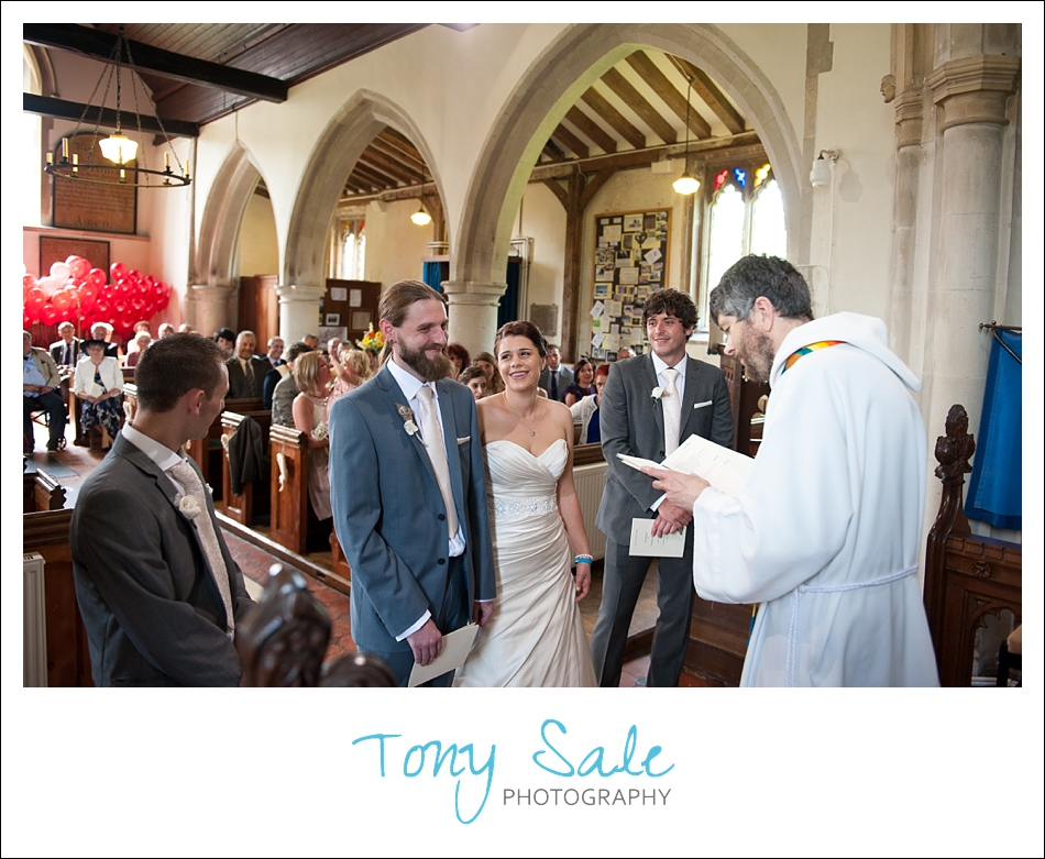 Gaby & Tom's Beautiful Church Wedding in Fyfield Essex