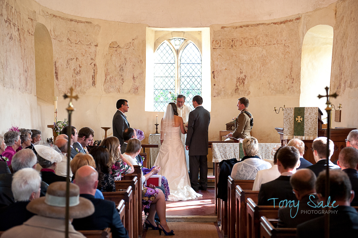 Wedding Ceremony – Why does the Bride stand to the left of the Groom?