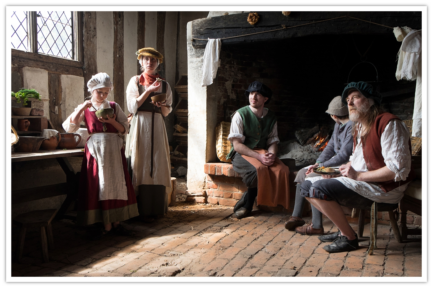 The Tudors at Kentwell _Tony Sale Photography