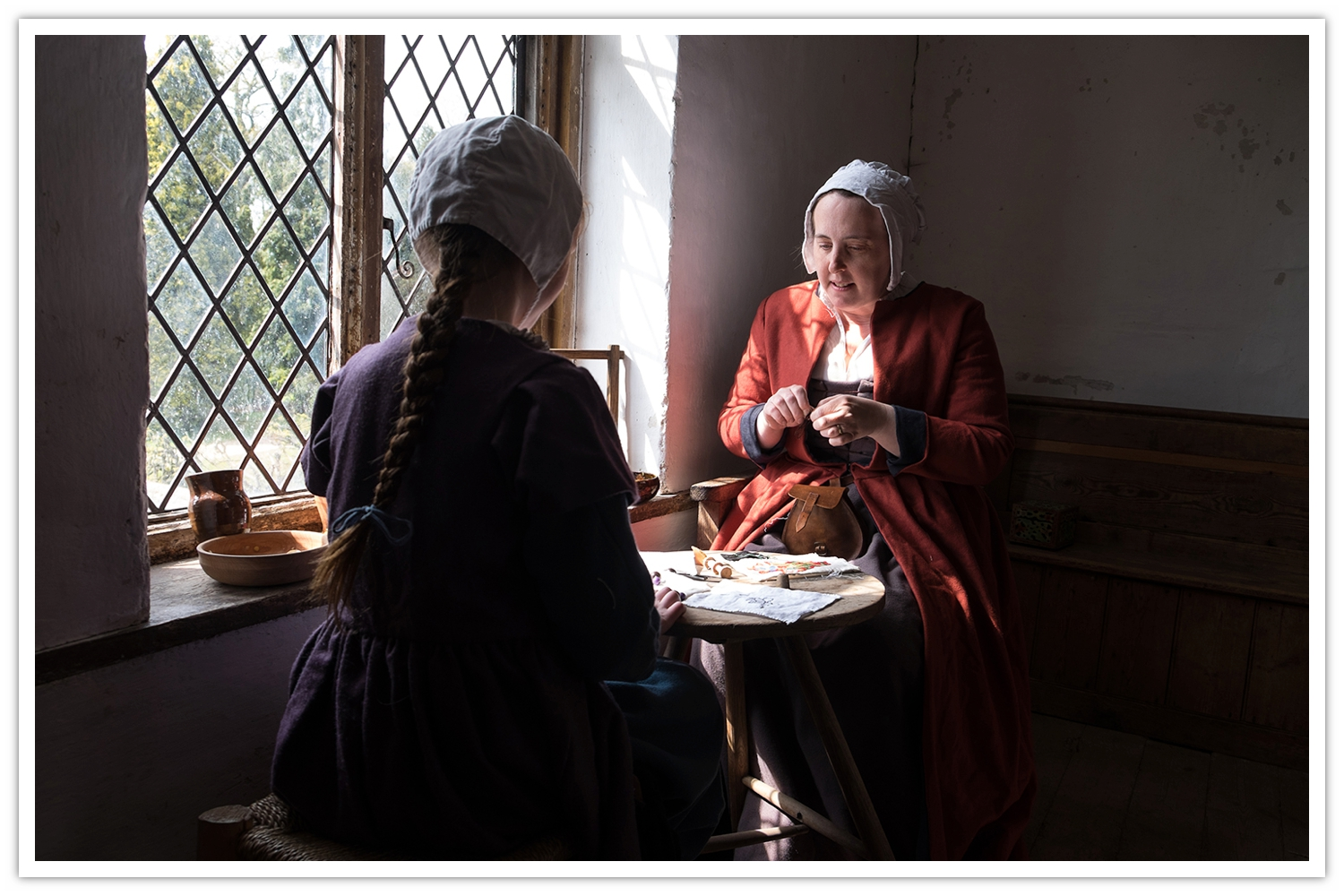 The Tudors - re-enactment at Kentwell Hall