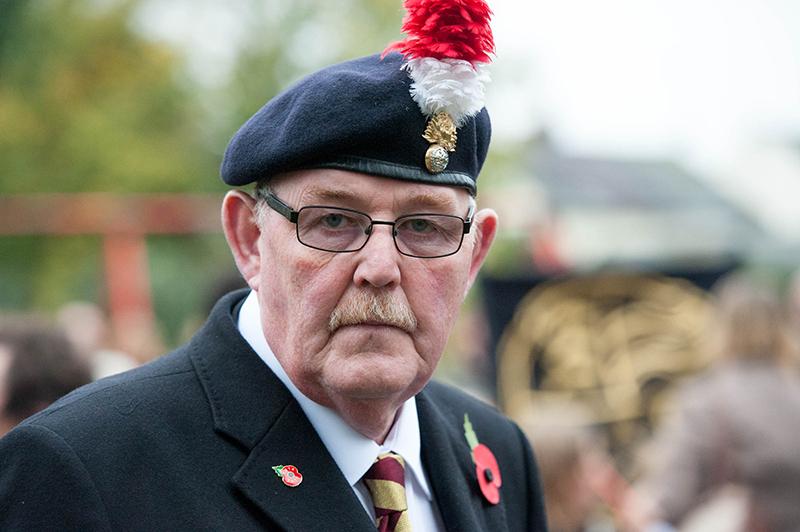 Remembrance Service & Parade Halstead Essex