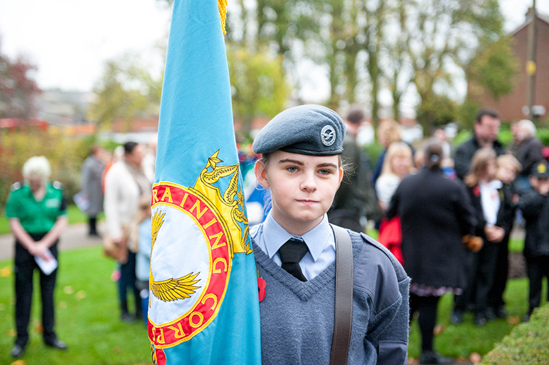 Tony Sale_Halstead Remembrance Parade_003