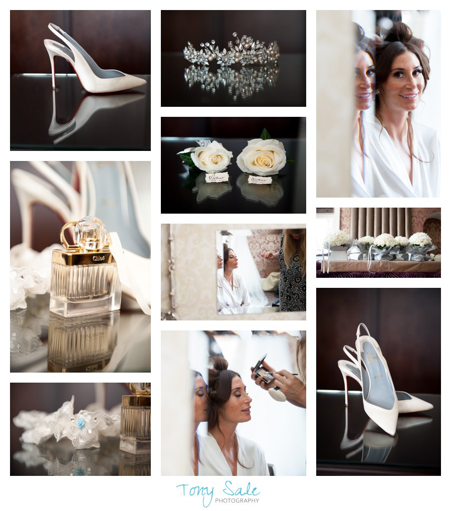 Bridal prep_ Wedding Photography at Pontlands Park