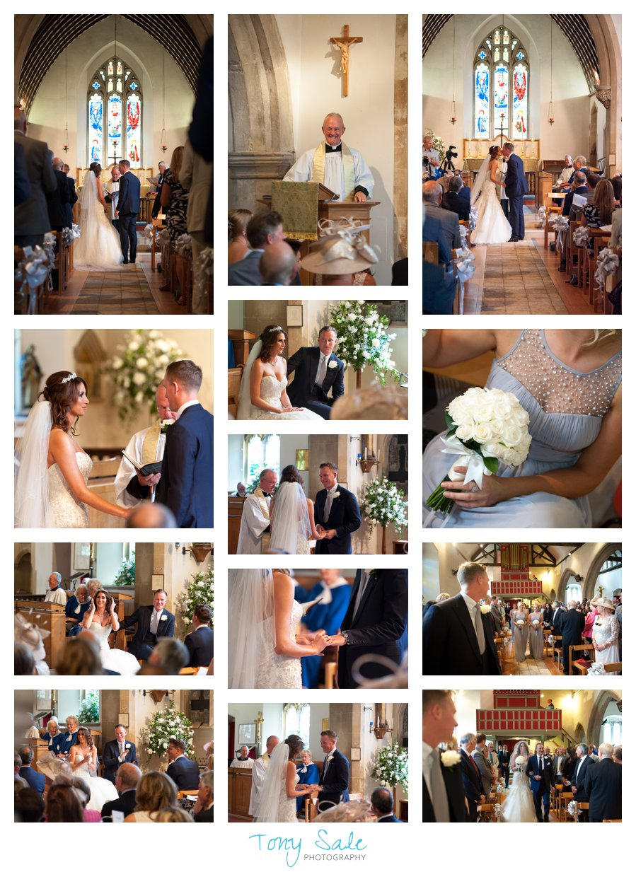 weddings at All Saints Stock