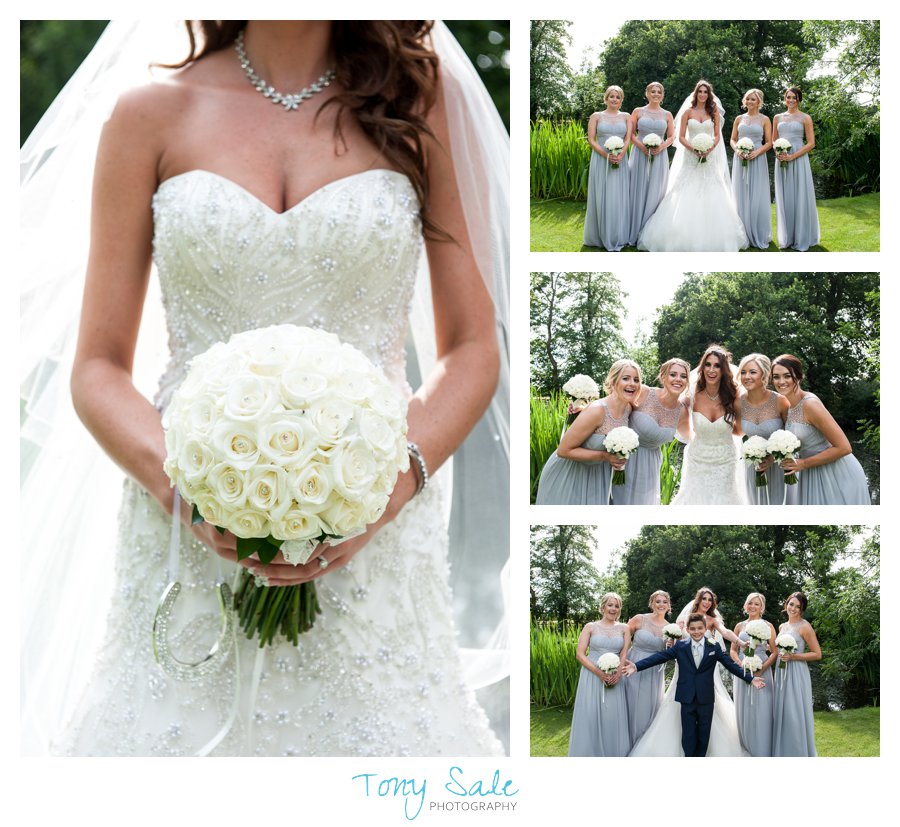 Wedding Photography_Bride with her bridesmaids_Tony sale Photography