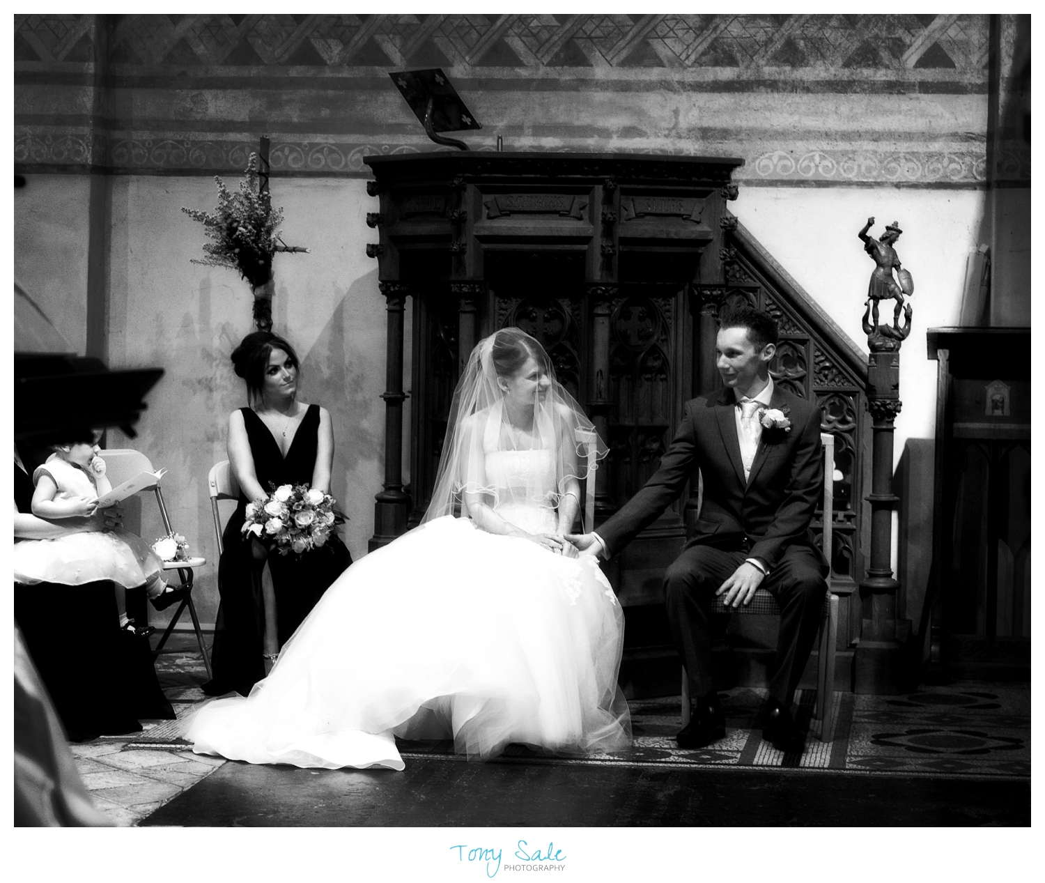 Nikki & Tim's Wedding at St Michael & All Angels Church, Copford