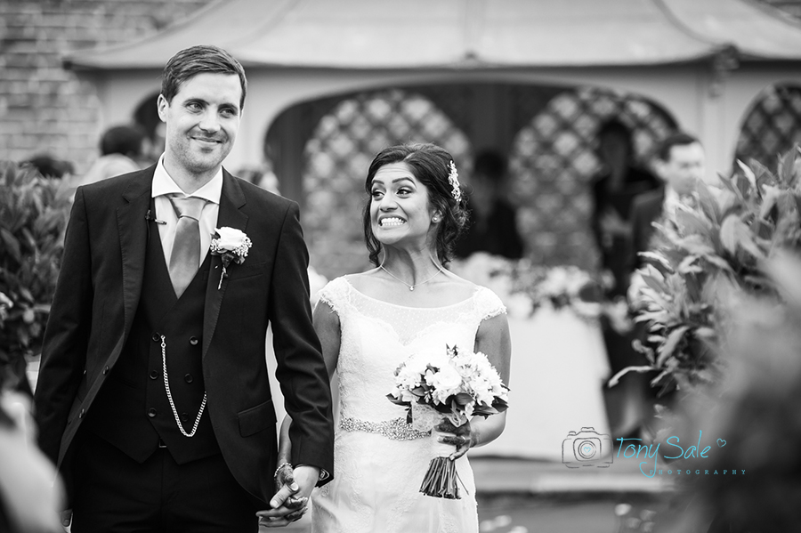 Beautiful Wedding photography at Braxted Park in Essex