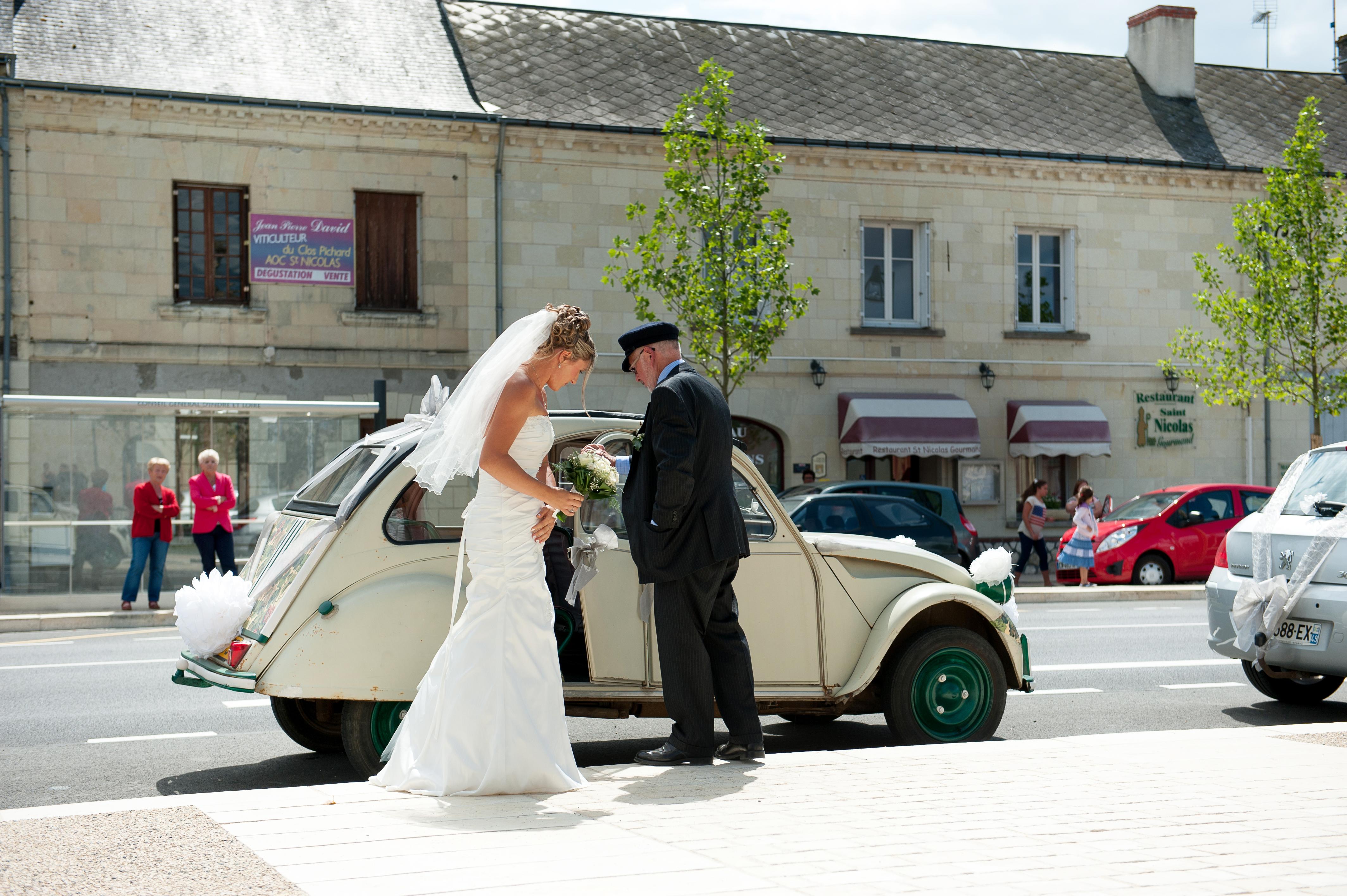 Destination wedding at  Chouzé sur Loire, France