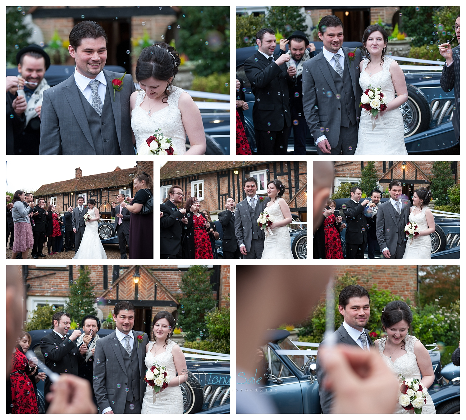 wedding-bubbles-newland-hall