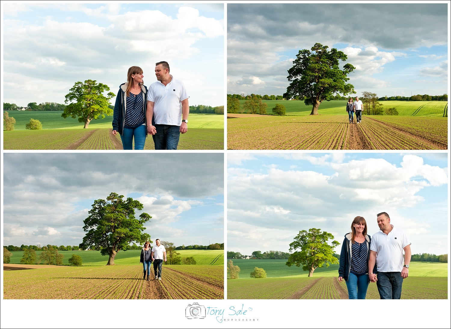 Pre wedding photo shoot in the countryside of Gosfield