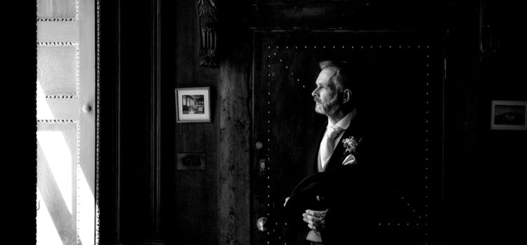 Black and White Wedding Photography – Gosfield Hall