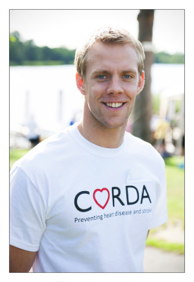 Olympic swimmer Ross Davenport at Gosfield Lake - by Essex Wedding and Portrait Photographer Tony Sale