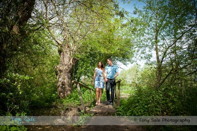 A Portrait shoot with the Cassandra and Edward at Paper Mill Lock