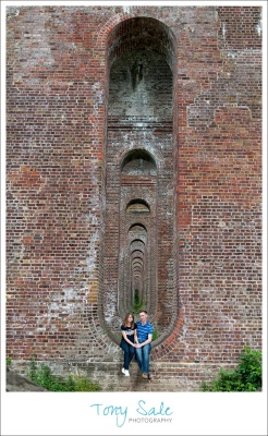 Chappel Viaduct - Pre wedding photo shoot