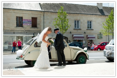 Destination wedding at  Chouzé sur Loire, France