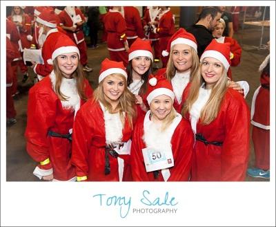 Santa Dash Spitalfields Market